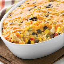 South-of-the-Border Chicken & Rice Bake