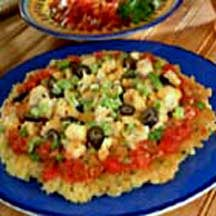 Southwest Turkey Rice Pancake