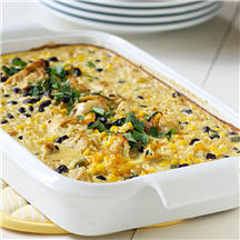Southwestern Chicken & Rice Casserole