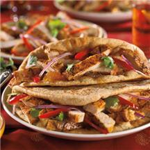 Tandoori Turkey with Mango Chutney Recipe at CooksRecipes.com
