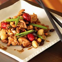 Vietnamese Stir-fried Chicken with Nuts and California Raisins