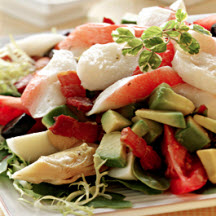 Alaska Surimi Seafood Composed Salad