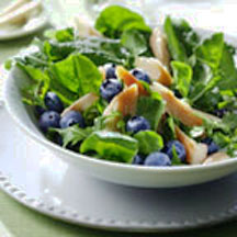 Smoked trout, fresh mint and blueberries give this salad an wildly ...