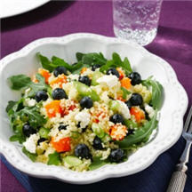 Blueberry and Butternut Squash Couscous Salad