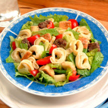 Cheese Tortellini Caesar Salad