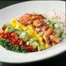 Chopped Vegetable and Maine Lobster Salad