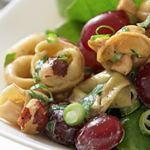 Grape & Hazelnut Tortellini Salad