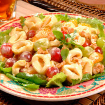 Orange and Grape Tortellini Salad