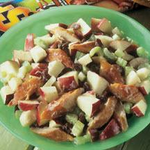 smoked mackerel and apple salad recipe at