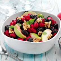 Spring Toasted Almond Fruit Salad