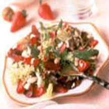 Strawberry and Stilton Salad
