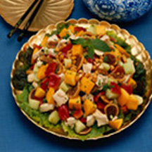 Thai Chicken Salad with Figs