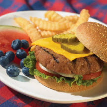 All-American Turkey Cheeseburgers