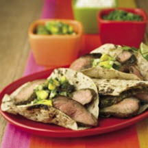 Carnitas Style Grilled Beef Tacos