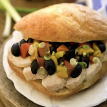 Chicken Olive Ciabatta