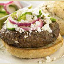 These Greek-seasoned burgers make extraordinary fare for a backyard ...