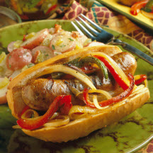 Italian Sausage and Pepper Hero