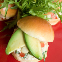 Southwestern Chicken Salad Sliders