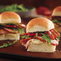 Spice Rubbed Pork Loin BLT Sliders with Dijon Remoulade