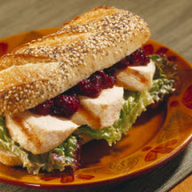 Tangy Cranberry Turkey Barbecue Sandwich
