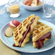 Waffle-wiches
