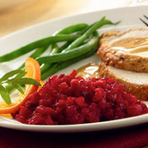 Fresh Cranberry Orange Relish