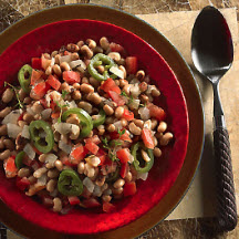 Black-Eyed Peas with Jalapeño and Tomatoes