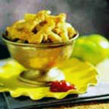 Green Tomato Fries with Fiery Ketchup
