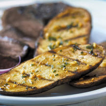 Grilled Potato Planks