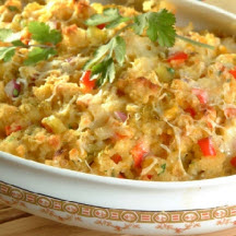 Mexican Corn Stuffing Casserole