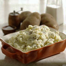 Quick and Healthy Microwave Mashed Potatoes