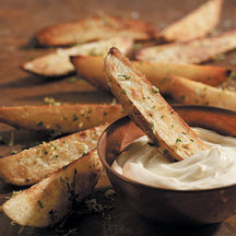 Skillet Fries with Gremolata and Aïoli