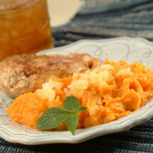 Sweet Potato and Pineapple Purée