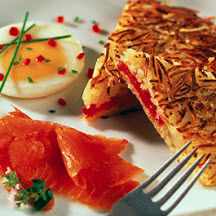 Tomato and Onion Hash Browns