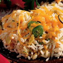 Cheese and Chile Rice