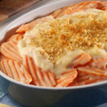 Cheese Scalloped Carrots