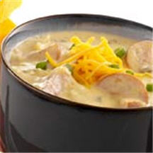 Cheddary Beer Soup Recipe at CooksRecipes.com