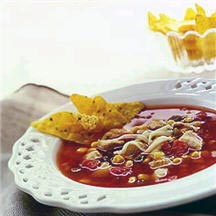 Chicken and Salsa Soup