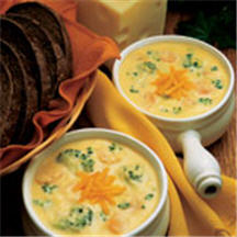 Colby-Swiss Cheese Soup