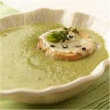 Fava Bean Soup with Pepato Tartine
