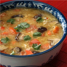 Invigorating Spicy Crab Soup with Chicken