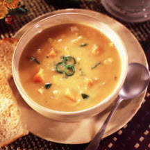 Jalapeño Sweet Potato and Chicken Chowder