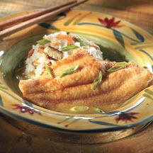 Lemongrass Broth Catfish with Sticky Rice