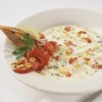 Maine Lobster and Roasted Corn Chowder