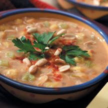 Posole-Green Chile Peanut Stew