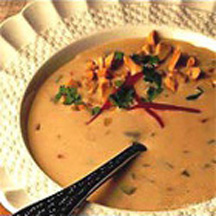 Thai Peanut Soup